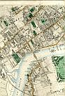 Old Brompton, West Brompton, Brompton, Chelsea, West London Junction Railway, Cremorne Gardens, The Town Meadows, River Thames, Battersea Reach, Battersea Bridge, Chelsea Reach, Battersea, & Battersea Park