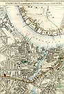Isle Of Dogs, Blackwall Railway, Cubitt Town, The River Thames, Greenwich Reach, Deptford, South Eastern Railway, Deptford Creek, New Cross, & Greenwich